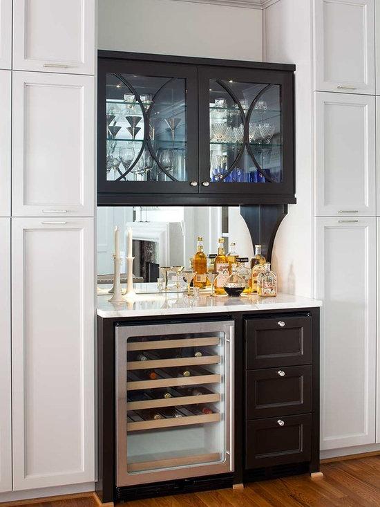 transitional dry bar home design photos decor ideas