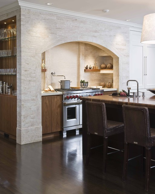 Lenox Street Kitchen traditional-kitchen