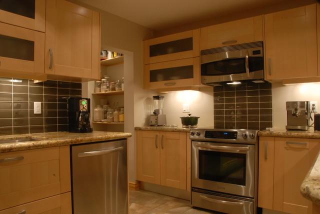 Leona Light Wood contemporary-kitchen