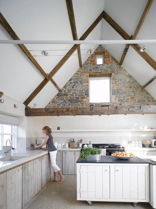 Padlás helyett nyitott tetőtér megoldások - Interiors