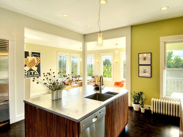 Leschi Residence Kitchen modern-kitchen