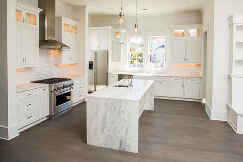 Shadow Storm Quartzite Kitchen Countertops Design Ideas