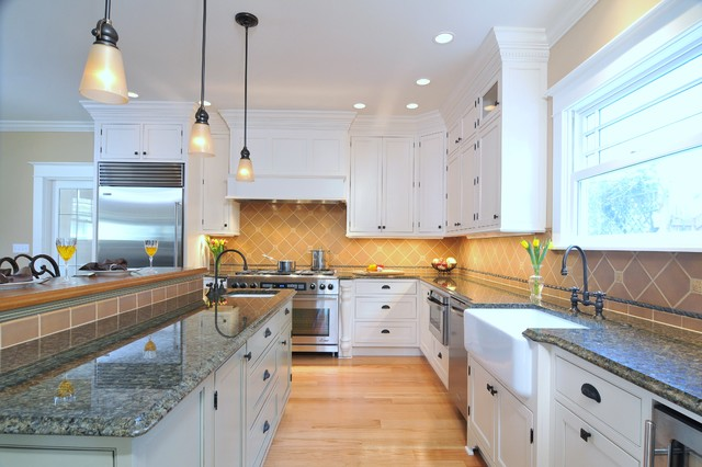 Greenfield Grace traditional-kitchen