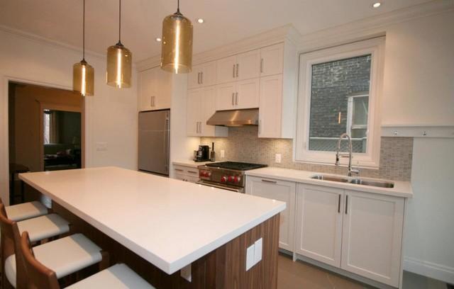 Leslieville Kitchen Toronto Oomph Design Modern Kitchen Other Metro