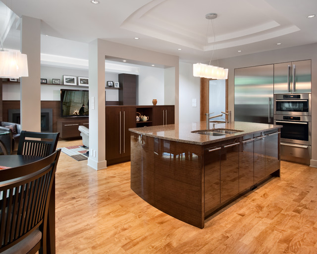Let the Sun Shine In - Contemporary - Kitchen - ottawa - by Design First Interiors