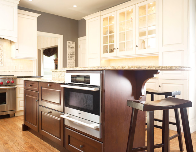 Let the Sunshine In traditional-kitchen