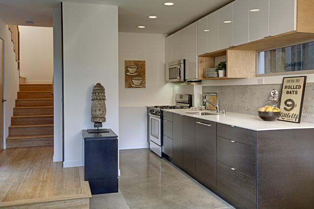 Lever Homes Kitchen modern-kitchen