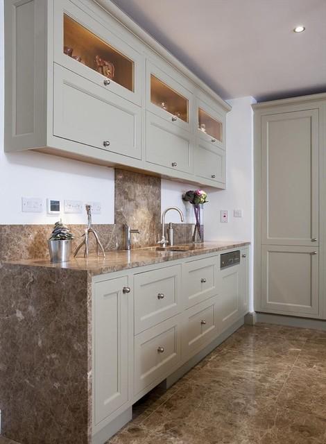 """Leverett""  Woodale Design traditional-kitchen"