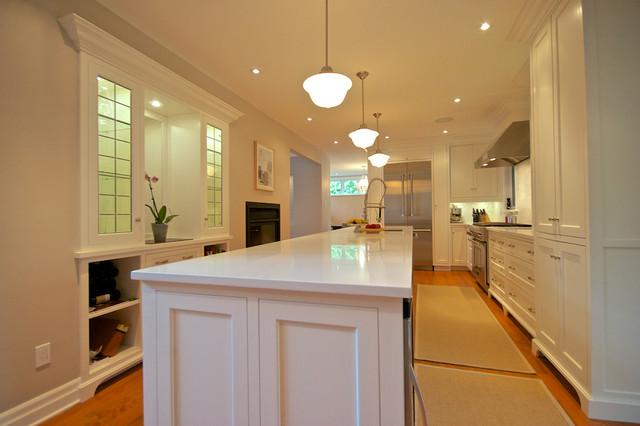 Levesque/Dubois - St-Lambert traditional-kitchen