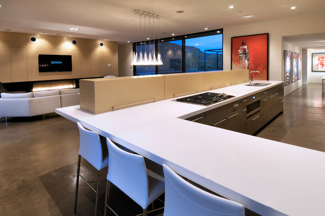 Levin II Residence contemporary-kitchen