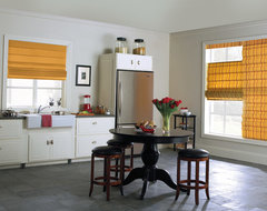 Levolor Classic Roman Shade traditional-kitchen