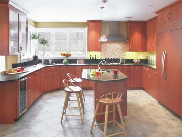Lexington Contemporary Kitchen Modern Kitchen Boston By Rp Designs