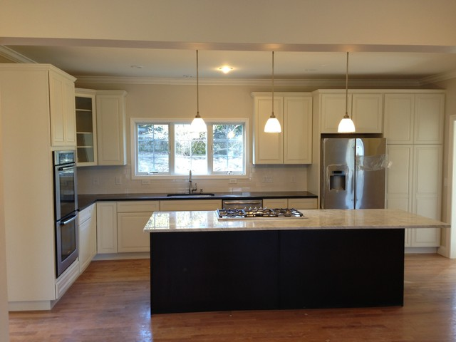 Lexington ma custom modular home for Traditional modular kitchen