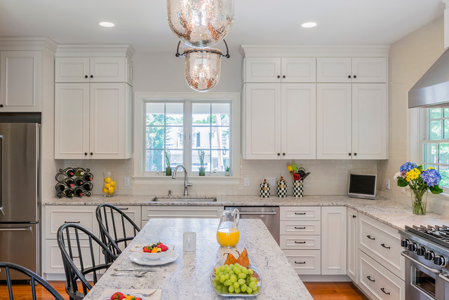 Lexington Ma Modular Colonial Traditional Kitchen Boston By Sterling Homes Development