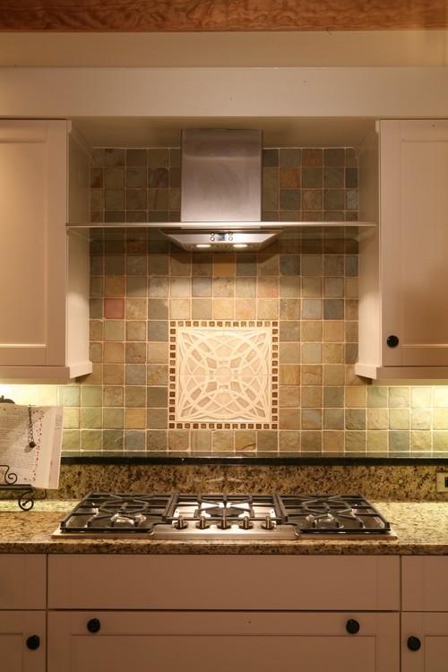 Tile medallion where did you find it for Kitchen backsplash medallion