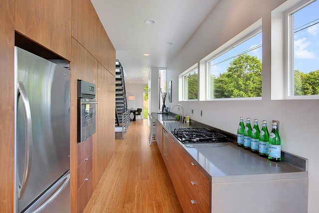 Lid Park Modern Kitchen Seattle By Method Homes