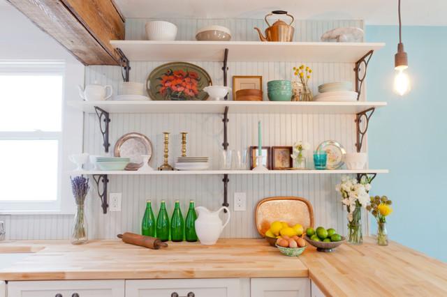 厨房窗台混搭风格装潢效果图