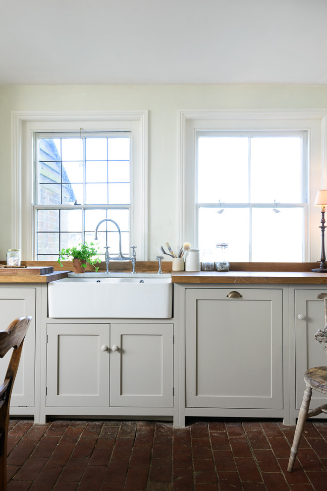 Example of a farmhouse kitchen design in Other