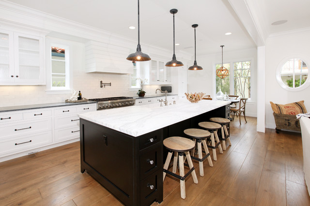 Black Kitchen Island Houzz