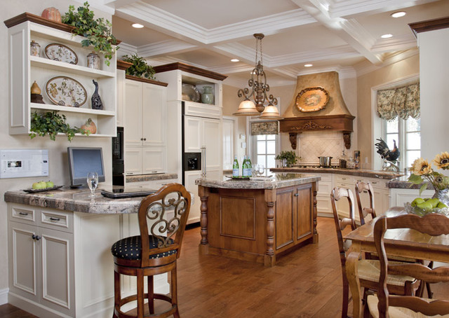 Light and gracious kitchen traditional-kitchen