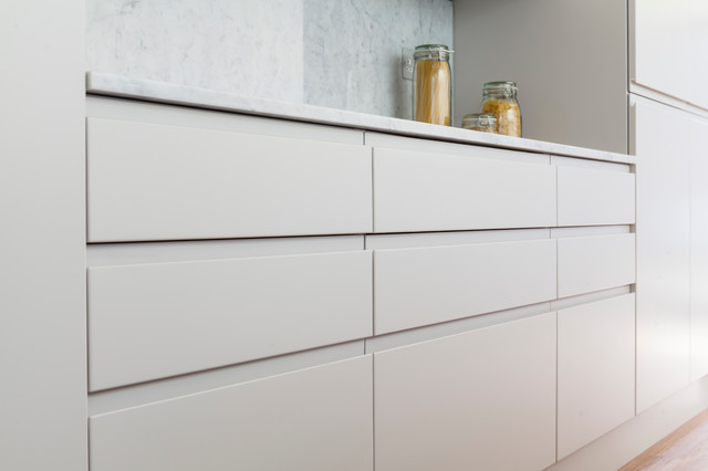 Sw11 Taybridge Road Kitchen Contemporary Kitchen London By London Joinery Company