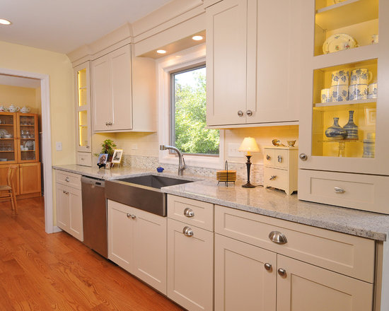 Remodels & Photos with Beige Cabinets and Stainless Steel Appliances
