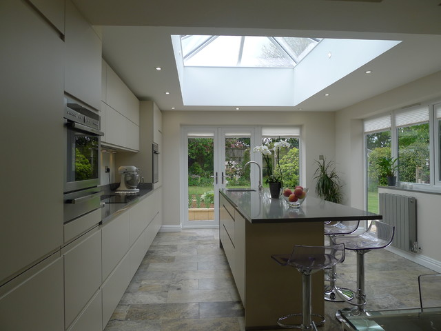 Light Filled Extension In Toto Kitchens Bristol