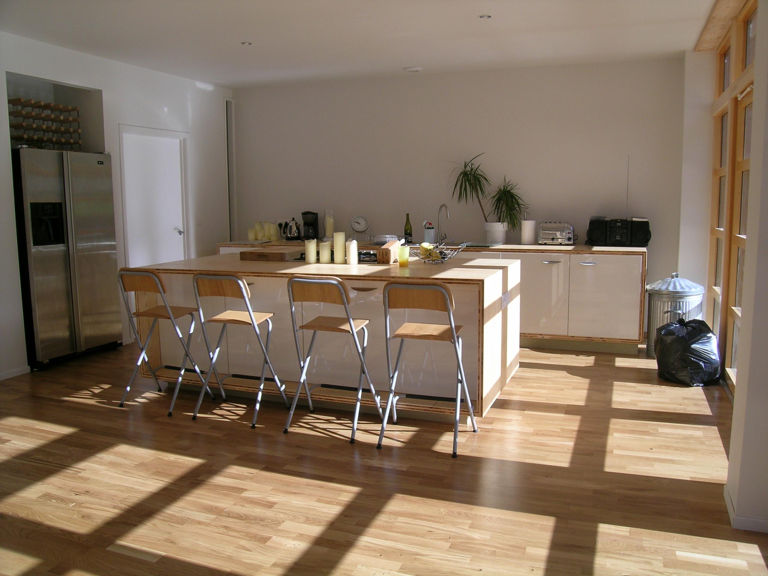 Light filled kitchen area