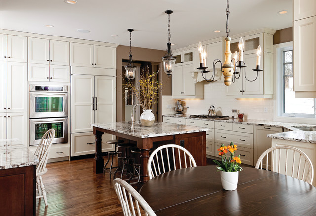 Light Hearted - Traditional - Kitchen - Other - by Huntwood Custom Cabinets