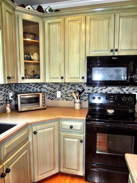 Light Kitchen Cabient Refinish - Modern - raleigh - by ...