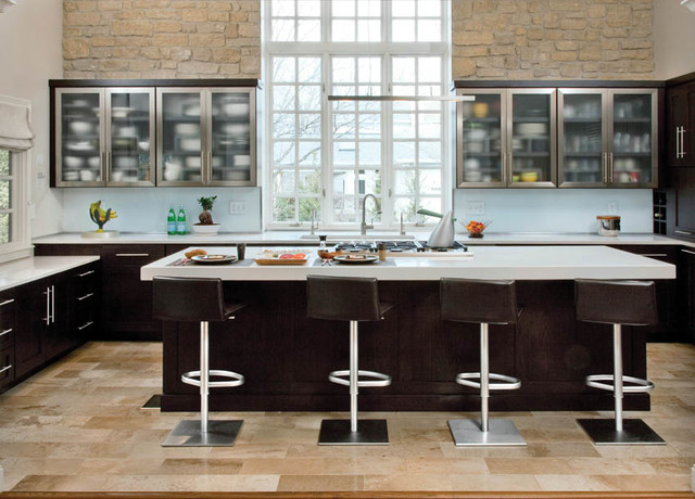 Light Touches Contemporary Kitchen Cincinnati By