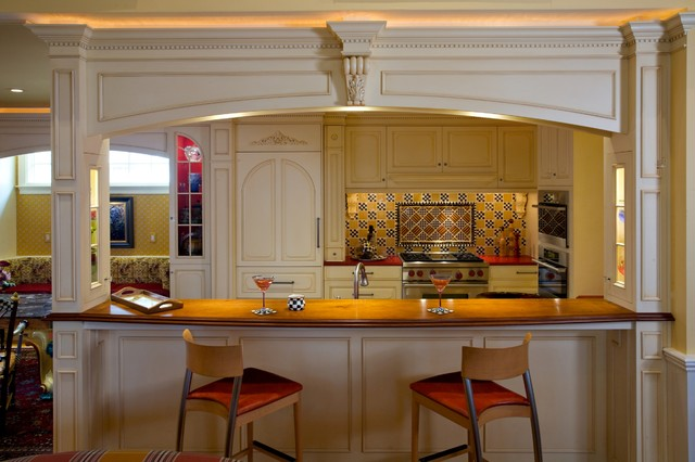 Light Up The Ceiling Traditional Kitchen Boston By