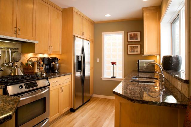 lighten up traditional-kitchen