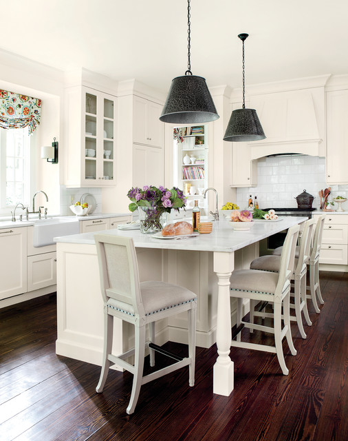 Lighten up traditional kitchen atlanta by southern for Southern kitchen design