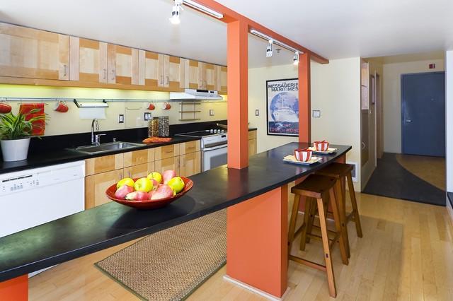 Lighthouse Lofts 204 modern-kitchen