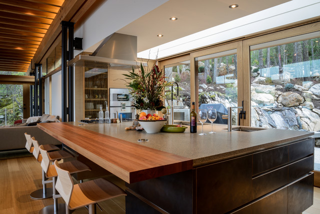 Lighthouse Residence contemporary-kitchen