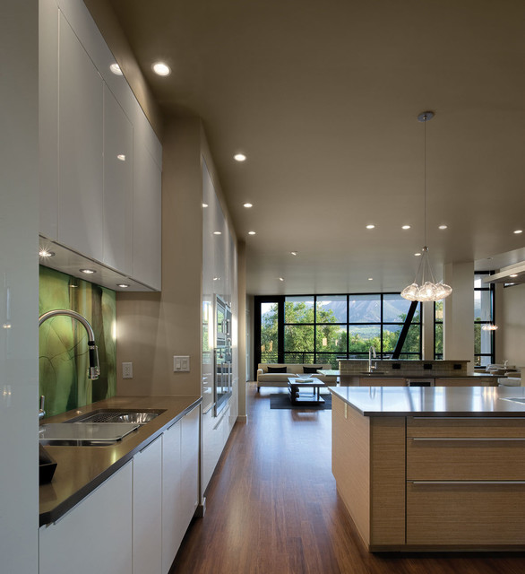 Lighting contemporary kitchen