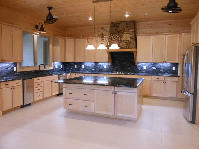 Lil Chalet traditional-kitchen
