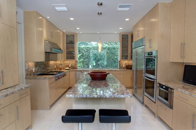 Limerick Lane Remodel  Contemporary  Kitchen  houston  by Atticus