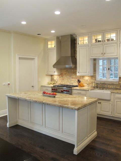 Chicago Kitchen Remodeling Contractor Get Your Dream: Chicago Kitchen With Brick Backsplash