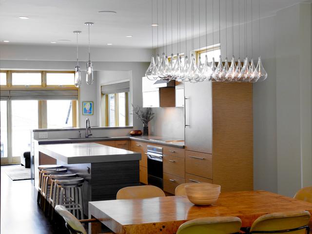 Lincoln Park Refresh contemporary-kitchen