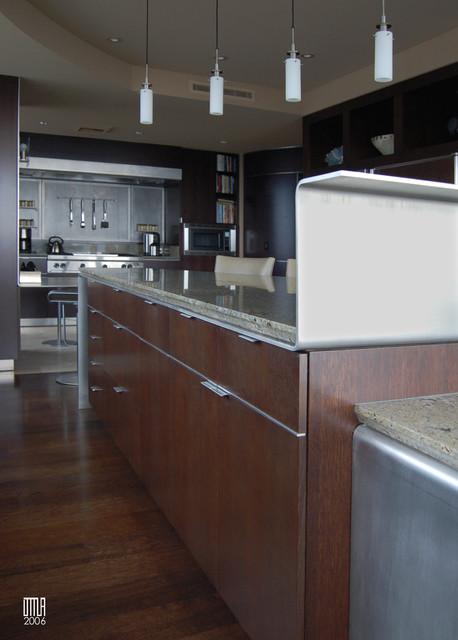 Lincoln Penthouse modern-kitchen