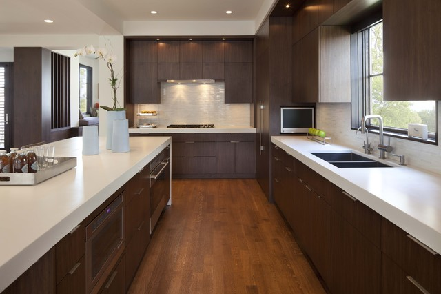 Linden Hills Contemporary contemporary-kitchen