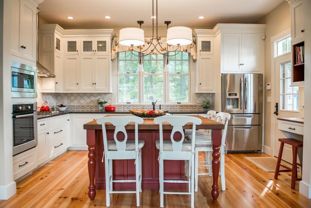 Linden Traditional Kitchen Portland Maine By Steinberg Custom Designs