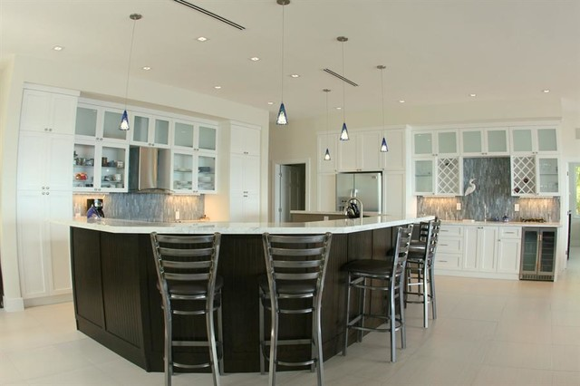 Linear Diffusers Transitional Kitchen San Diego By