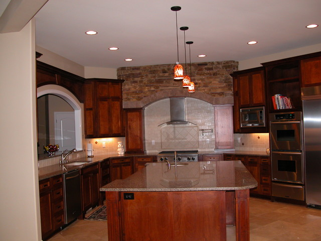 Lineberger Home traditional-kitchen