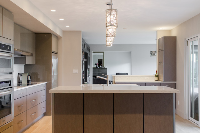Lions Bay contemporary-kitchen