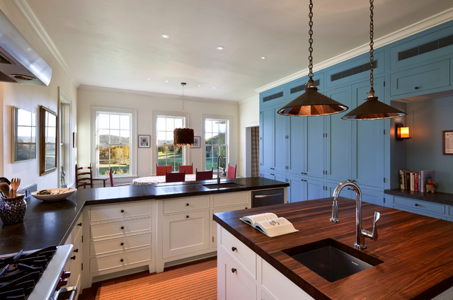 Litchfield County Ct House Traditional Kitchen Other By Atema Architecture Pllc