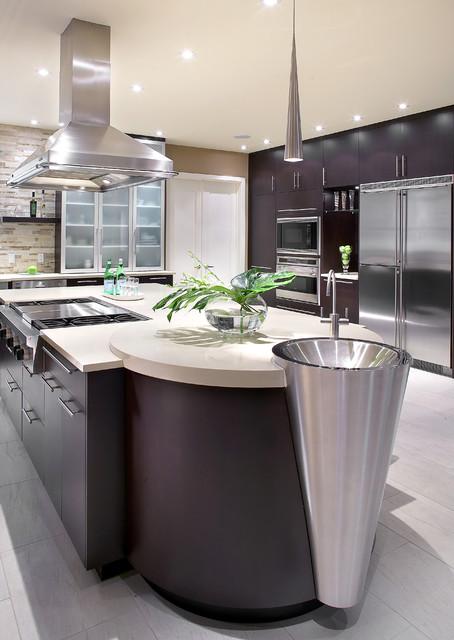 Little gem modern kitchen montreal by nouvelle cuisine - Nouvelle cuisine montreal ...