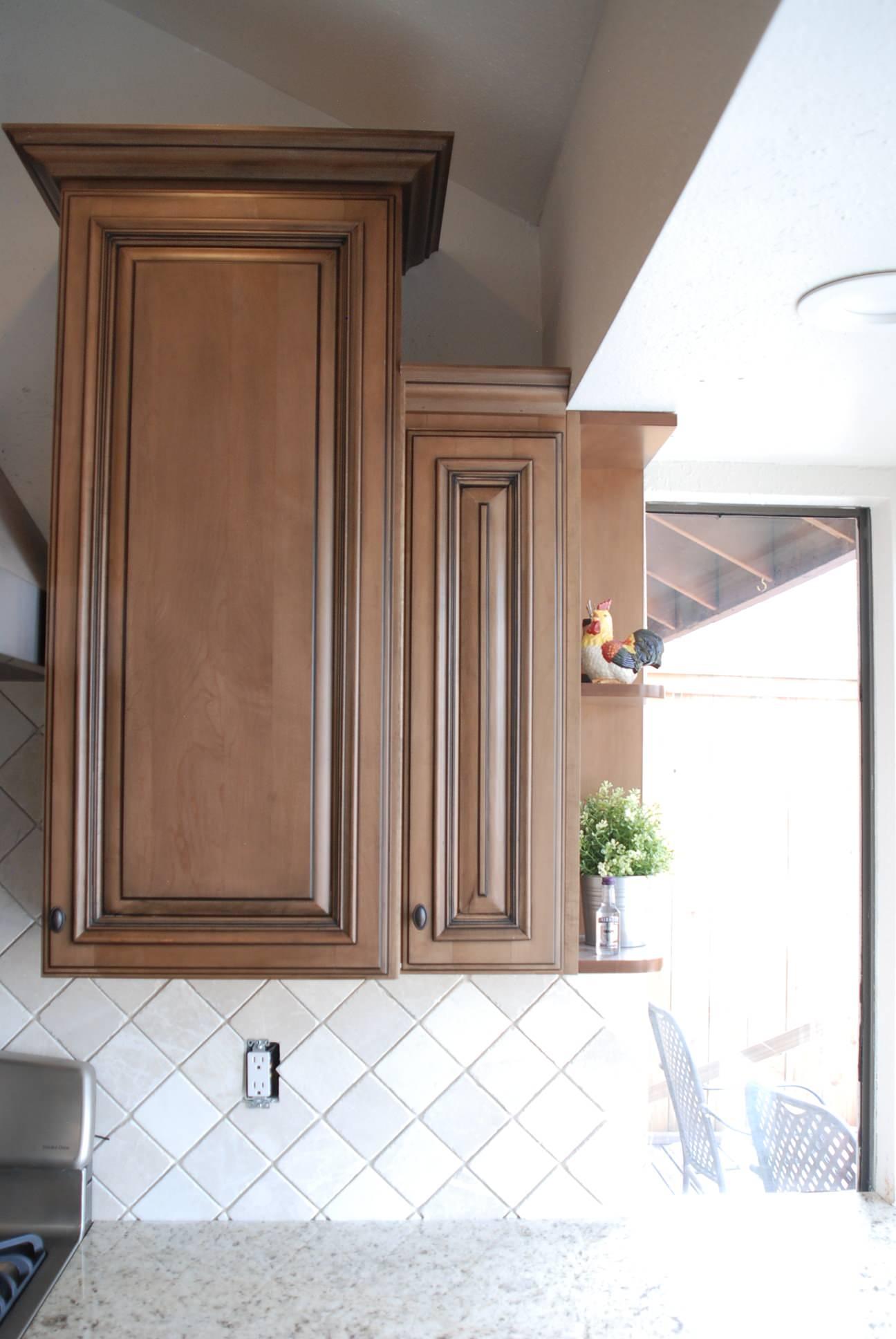 Littleton Kitchen - Cabinet detail